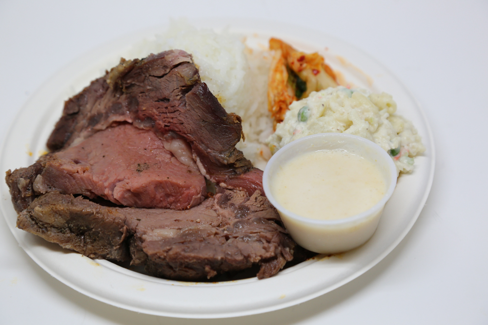 You can add a side of Alicia's homemade horseradish for your prime rib for just $1 on Thursday.