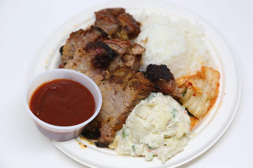 Alicia's makes their own barbecue sauce for their brisket. Trust us, it's the perfect combo.