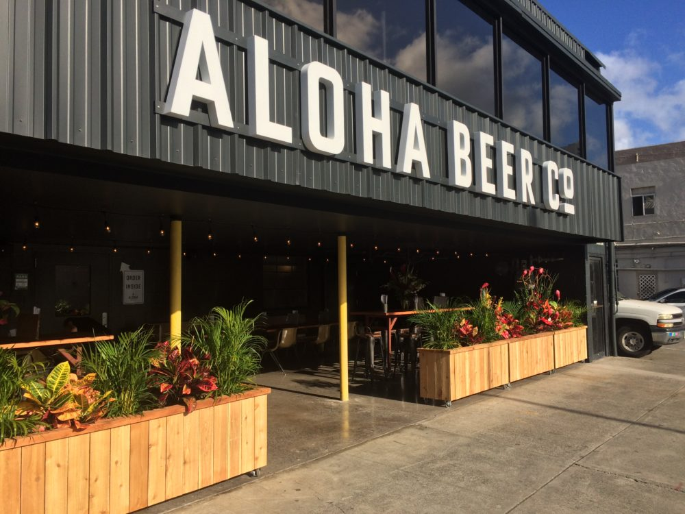 Aloha Beer Co. on busy Queen Street.