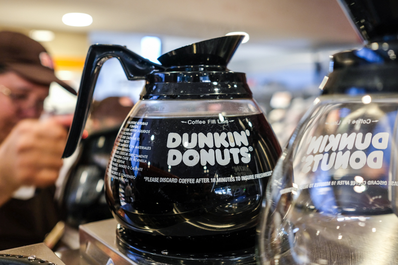 Donuts may be their name, but coffee's their game.