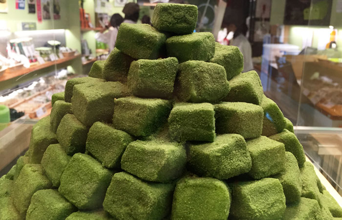 Kyoto is known for its green tea, so you know this is the real deal.
