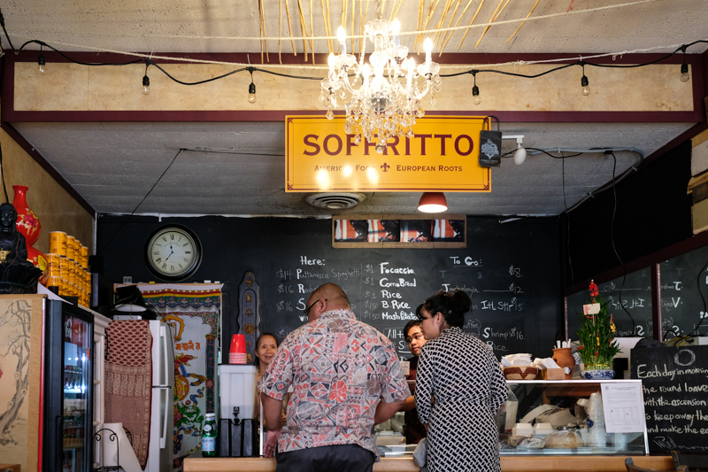 Soffritto is a new addition to downtown by a familiar couple, Robert and Jali Warner of the former Cafe 8 1/2.