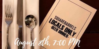 square barrels beer dinner