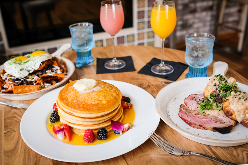 Ray Ray pancakes ($14) are a must-have on your brunch table.