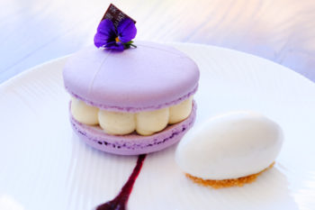 The cassis grand macaron, $12.