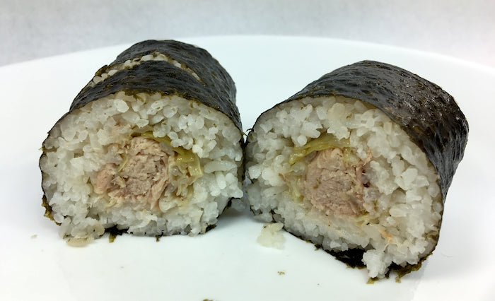 7-Eleven Kalua Pork and Cabbage Musubi Roll 4