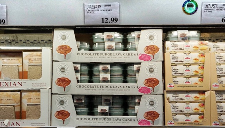 What I found at Costco: Chocolate lava cake | Frolic Hawaii