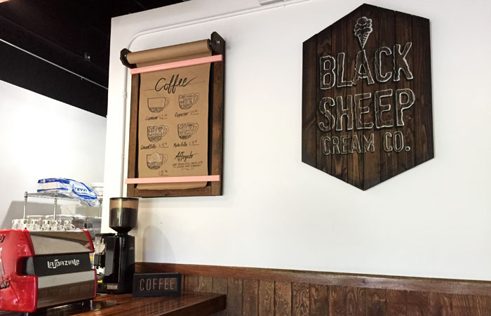 Even if you're there for ice cream, Black Sheep also offers coffee and affogato, which I'm determined to try on my next visit.