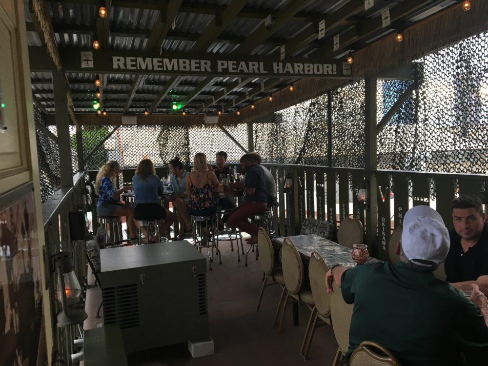 (Shh!) Home of the Brave Brewing's lanai is actually adjacent to its speakeasy.