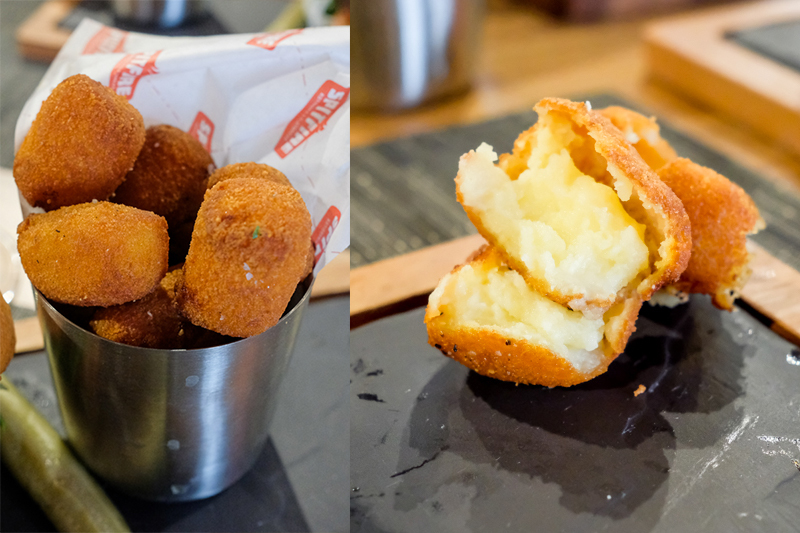 Tip: Get the Buttah Tots with your burger ($3 surcharge) and dip them in the house made spicy mustard.
