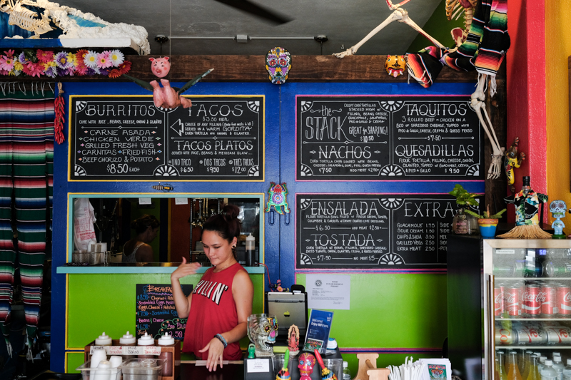 King Street Tacos has personality that bleeds from the interior design into the food.