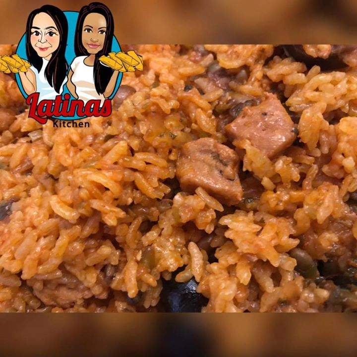 Latinas Kitchen - Arros con Gandules, Pasteles and Pastele Stew