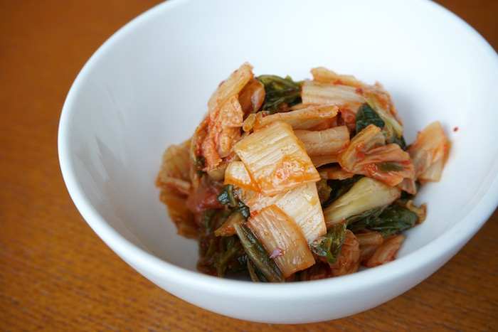 MW's Restaurant's house-made kimchee